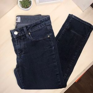 PAIGE Dark Wash Skyline Skinny Jeans